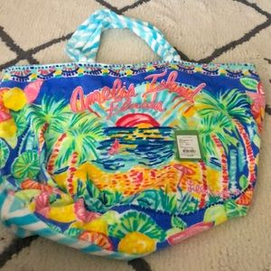 NWT Lily Pulitzer Beach Tote